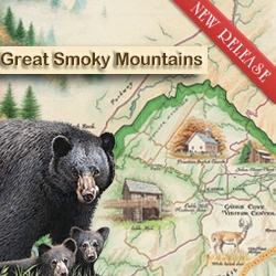 "Xplorer Maps Announces the Release of ""Great Smoky Mountains National Park"" Map"