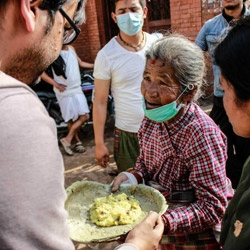 Food for Life Nepal Serving Hot Meals and Medicine Better and Faster Than the Larger NGOs