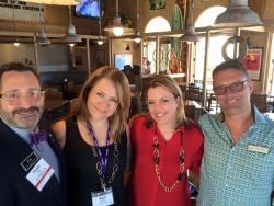 Ronald Shore and David Hitt at Keller Williams Los Feliz Attend Annual Luxury Homes International Retreat