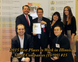 Warady & Davis LLP, Chicago CPAs & Consultants, Again Named a Best Place to Work in Illinois