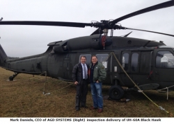 AGD SYSTEMS Offers UH-60A Black Hawk Helicopters, Services and Training