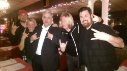 International Rock Band, Apocalyptica, Dines at Five O'Clock Steakhouse