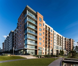 One Lakes Edge at Hughes Landing Substantially Complete