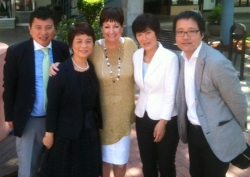 Japan Home Stagers Meet with Home Staging Inventor