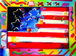 Ocean Galleries Welcomes Peter Max for July Fourth Weekend: Iconic Artist's New Exhibition Includes a Collection of His Most-Revered Imagery Spanning Four Decades