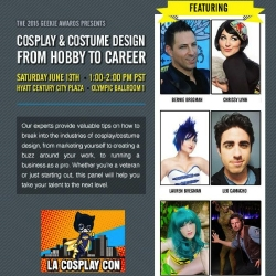 The Geekie Awards Live Streams the 2nd Annual LA Cosplay Con Giving Fans a Virtual Ticket to Cosplay Panels, Costume Contests and Music