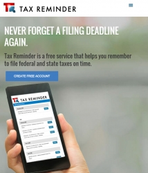 TaxReminder.com is a Free Service That Helps Small Business Owners File Tax Forms on Time