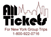 All Tickets, Inc. Announces Innovative Best Broadway Group Comp Deal:  Free Tickets for Groups