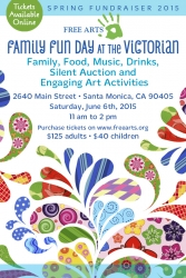 Healing Children Through Art at Free Arts Fun Day on June 6, 2015