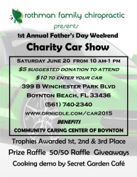Local Chiropractic Office Hosts Charity Car Show Father's Day Weekend