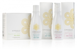 New Brand - Emmaus - 3 Step Product System to Reveal Smooth & Glowing Skin