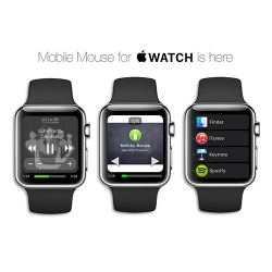 With the Release of the Apple Watch, RPA Technology Puts Mobile Mouse on Your Wrist