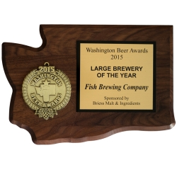 Fish Brewing Company Wins Washington Brewery of the Year Award