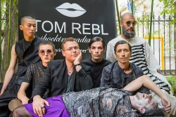 The DADAMatix Spring/Summer 2016 Collection by Tom Rebl Opens the Days of Fashion Week in Paris, with Its Debut Conceived as an Artistic Show and a Fashion Performance
