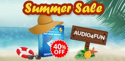 Audio4fun Brings Everyone a Great Tip to Enjoy Sizzling Summer