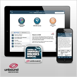 Unbound Medicine and the American Public Health Association Extend Partnership with Release of Control of Communicable Diseases Manual App