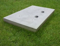 New Super Lightweight Cellular Concrete Equipment Pads