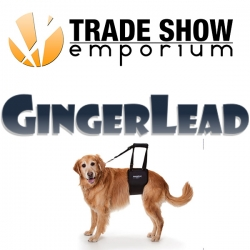 Rehab for Dogs:Trade Show Emporium Helps Ginger Lead Exhibit Their Revolutionary Dog Support Harness