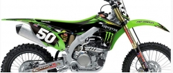 BTO Sports Offers Sale on N-Style Team Pro Circuit Monster Graphic Kit for Kawasaki