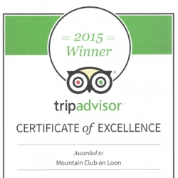 The Mountain Club on Loon Resort & Spa in Lincoln, NH Has Been Recognized as a Top-Performing Resort by Travelers on TripAdvisor®