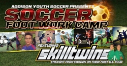 SkillTwins Worldwide Soccer Sensations U.S. Soccer Camp Aug 10th-14th | Aug 17th-21st