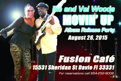 Ike and Val Woods Blues Band New CD Release