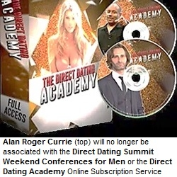 Direct Dating Academy Moves on Without Alan Roger Currie