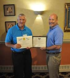 Steve Alford, a Resident of Roxbury NJ Was Awarded the Presidents Volunteer Service Award by the Caring Neighbors Network
