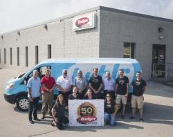 Badger Truck Center Provides Ford Transit Van to Bublr Bikes