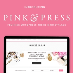 Lauren Gaige of Restored 316 Launches Pink & Press, a Feminine WordPress Theme Marketplace