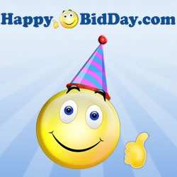 Penny Auction Site HappyBidDay Reveals 5-Year Birthday Specials