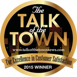 Elliott Homes LLC Earns Third Straight Talk of the Town Award for Excellence in Customer Satisfaction