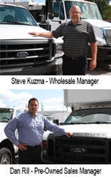 Badger Truck Center Promotes Steve Kuzma and Dan Rill