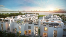 Sales Launch for Only Pre-Construction Luxury Townhome Community in the Design District: One Bay Residences