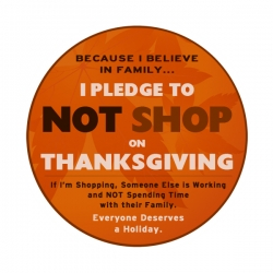 Who Started This Battle to Stop Shopping on Thanksgiving?