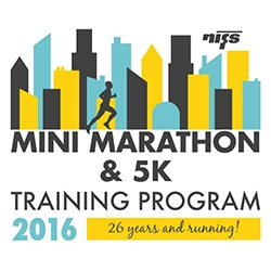 National Institute for Fitness and Sport (NIFS)  Mini Marathon & 5K Training Program - 26 Years and Running