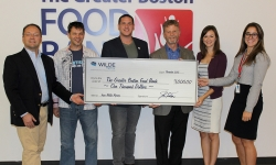 Wilde Agency Donates $1,000.00 to The Greater Boston Food Bank as Part of MindCamp Launch, an Interactive Decision Science Game