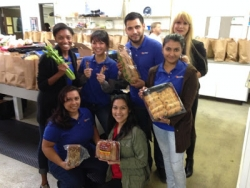 eGumball, Inc. Volunteers at Share Our Selves Food Pantry for Thanksgiving