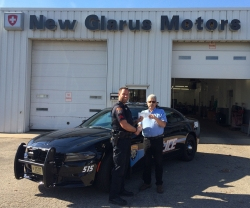 New Glarus Motors Gives Back to the Local Community