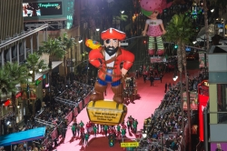 """A Record Attendance at 84th Anniversary of the Hollywood Christmas Parade That Included Captain Tom Bristol from L. Ron Hubbard's """"Under the Black Ensign"""""""