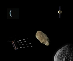 "Asteroid Initiatives LLC ""Pixie"" Spacecraft Swarm Probes Selected for Study Phase in Asteroid Defense Test"