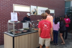 """New Lunch """"Create"""" Station Opens at Stanton College Preparatory School"""