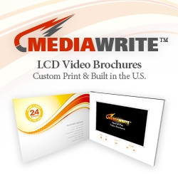Sales Just Got Easy with MediaWrite's LCD Video Brochures