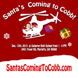One of the Biggest Christmas Events in Georgia: Santa's Coming To Cobb