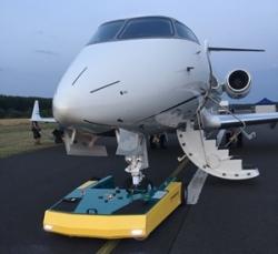 Semi-Autonomous Robotic Aircraft Tug Generates Up to 40% More Hangar Space
