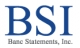 Banc Statements, Inc (BSI)