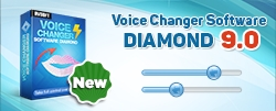 Audio4fun's Two-Year Research and Development Results in the Latest 9.0 of Voice Changer Software Diamond