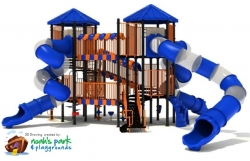 Noah's Park & Playgrounds and Homes by Taber™ Come Together to Bring an Exciting, Custom Playground to Timber Crest of Edmond, OK