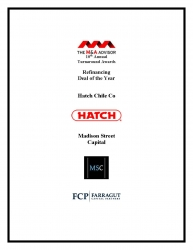 Madison Street Capital Announced as a Winner for the 10th Annual M&A Advisor Turnaround Awards