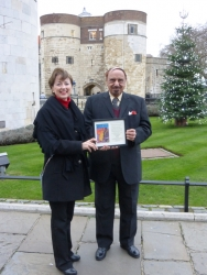 L. Ron Hubbard's Post-Apocalyptic Tale—Final Blackout—Honored at Tower of London, Site of Story's Dramatic Conclusion
